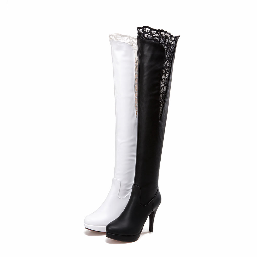 Popular Thigh High Boots Size 10-Buy Cheap Thigh High Boots Size ...