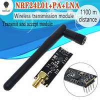 10PCS NRF24L01+PA+LNA Wireless Module with Antenna 1000 Meters Long Distance FZ0410 We are the manufacturer