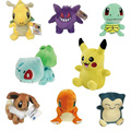 Pikachu Plush Mini Toypia 12 Style Charmander Gengar Bulbasaur Dragonite Snorlax  13-20cm Figure Toy Gift For Kids