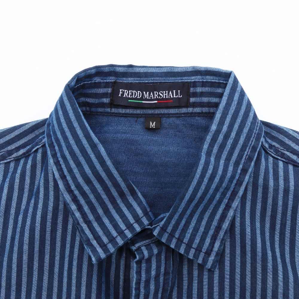 a2317b65b50 ... Europe Size Men s Denim Shirt New Dress Shirts Male Shirt Long Sleeve  Mens Jean Shirt Classic ...