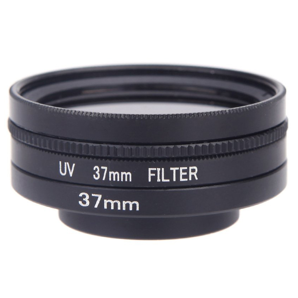 5 in 1 37mm CPL UV filter lens cap adapter cord for Gopro Hero 3 HD