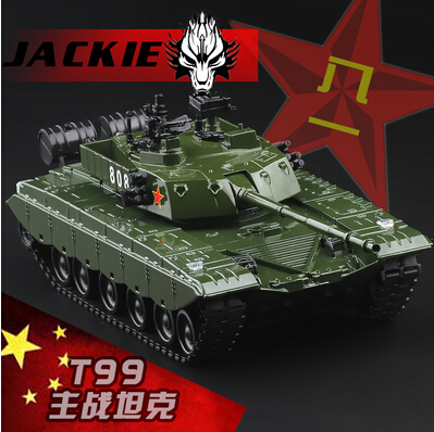 Free shipping T-99 MBT Tank China Alloy armored vehs