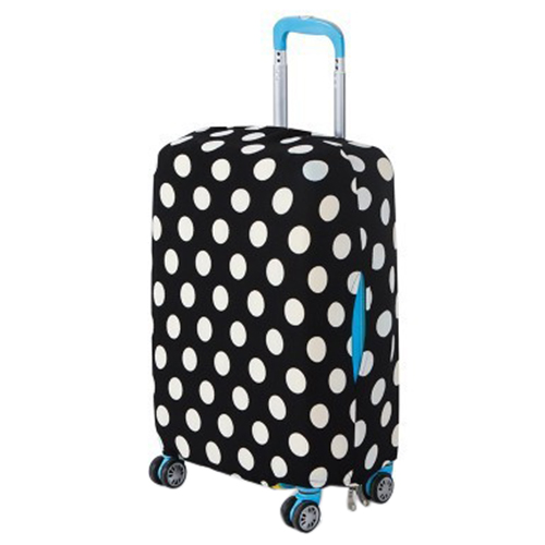 Fashion Colorful Printing Boutique Stretch Straps Trolley Boxes Travel Bags Dust Cover Size S-XL женские блузки и рубашки women s fashion boutique show o blusas s xxl wf 9308 pcc