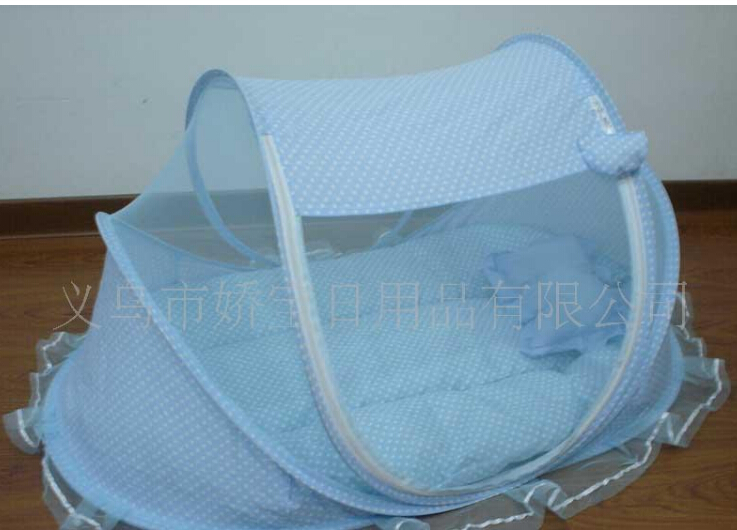 ФОТО Baby Kid Infant Folding Mosquito Net Travel Bed Tents Music Pillow Safety