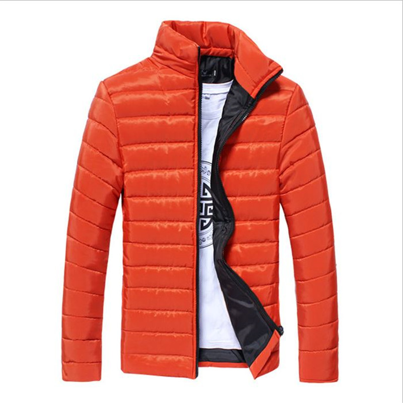 Winter And Winter Man 39 S Coat NewBrand Design Of Pure Color Warm Men 39 S Cotton Padded Coat And Coat Thick Coat Size M Xxxl in Parkas from Men 39 s Clothing