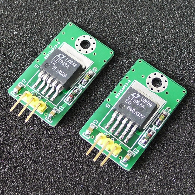 2pcs LT1963 LT1963EQ Power Converter 12V To 5V DC To DC Power Supply Module 5V Fixed Output Replace LM1085 108X Series