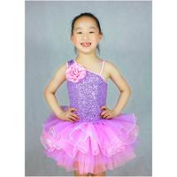 2018 New Real Girls Acrylic Professional Ballet Tutu Child Leotard Formal Dress Princess Flower Girl Wedding Costume 8023