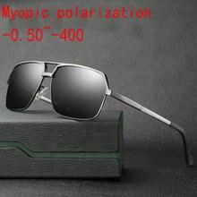 5869d61a2e 2019 Aluminum magnesium Custom Made Myopia Minus Prescription Polarized  Lens Fashion men sports polarized sunglasses male