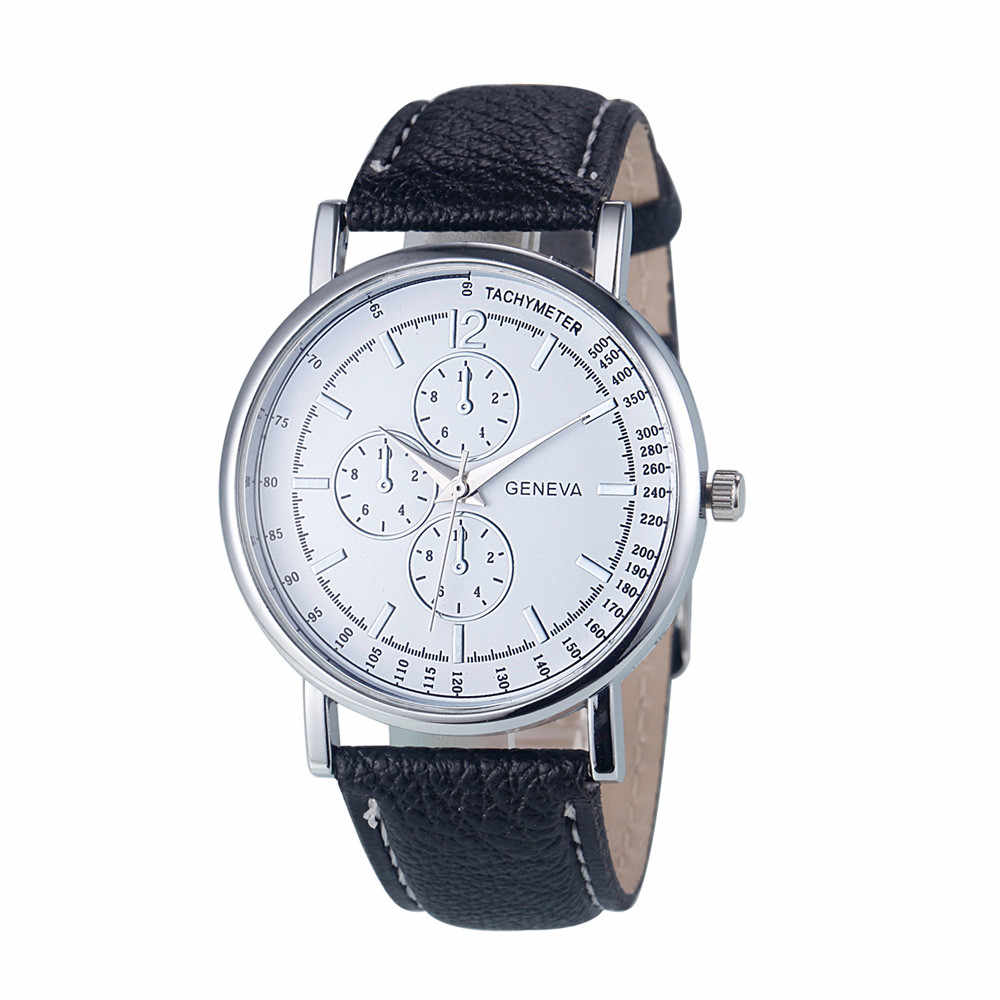 Geneva Women Luxury Watch Fashion Diamond Analog Quartz Faux Leather Wrist Watch Watches Gift High Quality for Dropshipping QC7