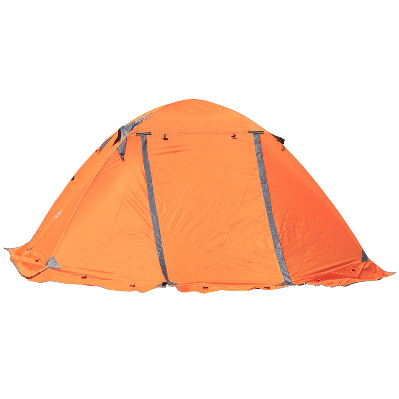 High quality outdoor 2 person camping tent double layer aluminum rod ultralight tent with snow skirt oneroad Windsnow 2 PLUS hillman 3 4 person double layer ultralight silicon tent 2d silicone coated nylon waterproof aluminum rod outdoor camping tent