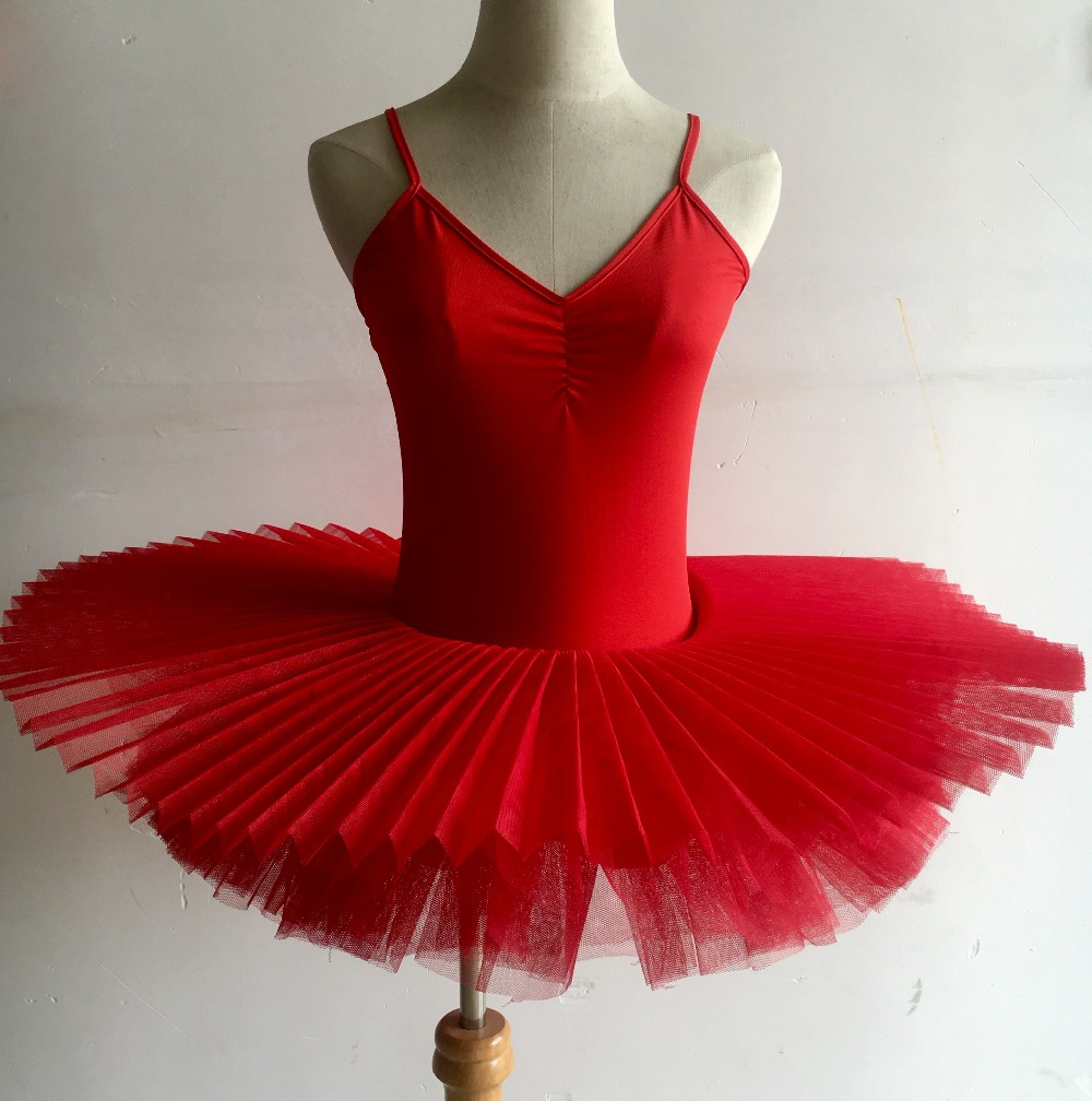 Image 3 - Black/Red/White Ballerina Dance Dress Professional Adult Ballet Costume Women Ballet Dance Clothes Child Girls Ballet Dance Tutu-in Ballet from Novelty & Special Use