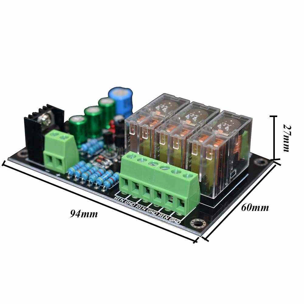 Lusya аудио Защитная панель динамика Omron автомобиля DC Защитная панель динамика для цифрового усилителя 3*300 Вт A5-015