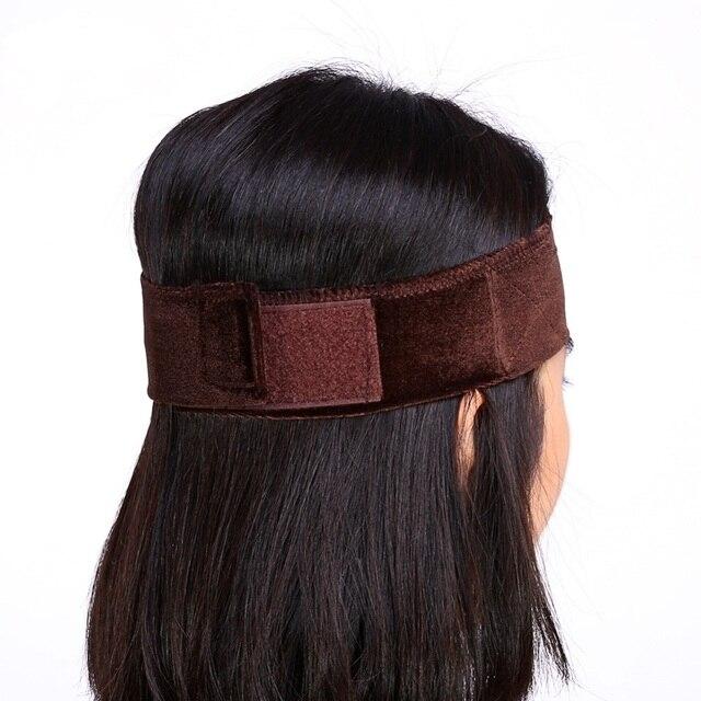 1 PCS Faixa De Cabelo de Veludo Veludo Ajustável Aderência Peruca Wiggery Accessery Cabeça Faixa de Cabelo Headband 3 Cores Quentes