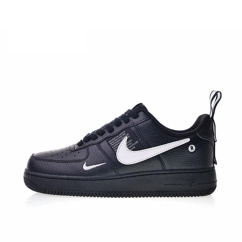 Original Et Authentique Nike Air Force 1 07 LV8 Pack Utilitaire Hommes de chaussures pour skateboard Sneakers Athletic Chaussures De Créateurs 2018 Nouveau - 5
