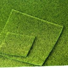 49x70cm Realistic Simulation Lawn Green Artificial Grass Mat Simulation Moss For Home Wedding Decoration Garden DIY accessories