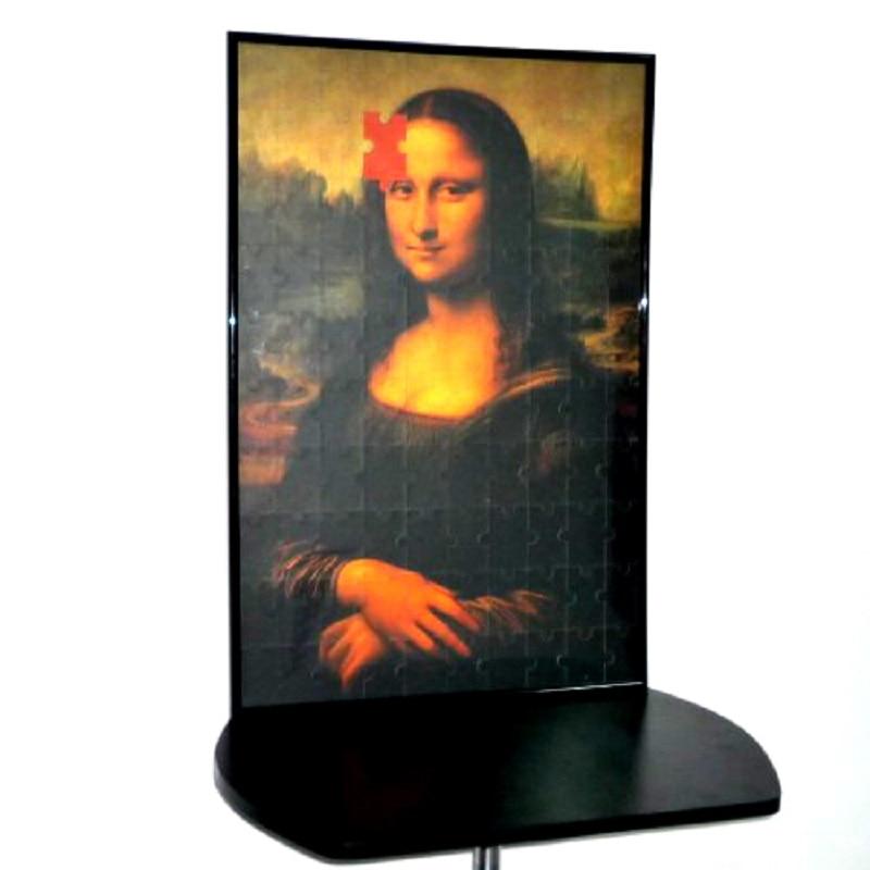 Mona Lisa 2 Burvju puzzle Burvju triki Stadijas Magic Mentalism burvju