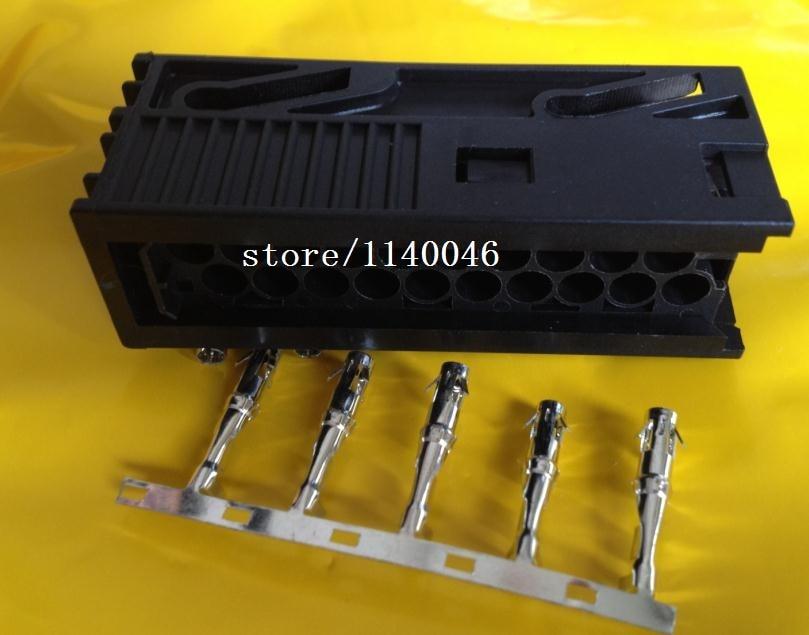 FOR BMW/harman/caton/pa plug FOR BMW 20 core audio plug-ins Optical fibers linking up the nylon material plug