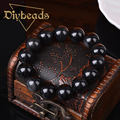 New Fashion Natural Stone Obsidian Bracelet Men Jewelry Agate Quartz Crystal Bead Pulseras Diybeads