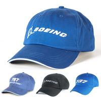 Boeing B787 737 747 777 787 Hat Outdoor   Baseball     Cap   Adjustable for Pilot Aviation Gift Flight Crew, Blue / Black