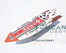 46″ G26A2 Fiber Glass Gas RC Boat Toys Gifts KIT Monohull Bare Hull Only Prepainted Deep Vee 26CC RC Boat