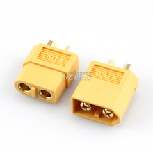 1 Pairs Amass XT60 XT60U XT60H Male Female Bullet Connectors Plugs For RC Lipo Battery FPV Quadcopter kit Drone parts(China)