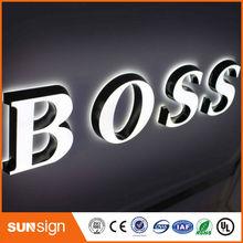 Высокая яркость подсветкой акриловый знак водить письма 3D