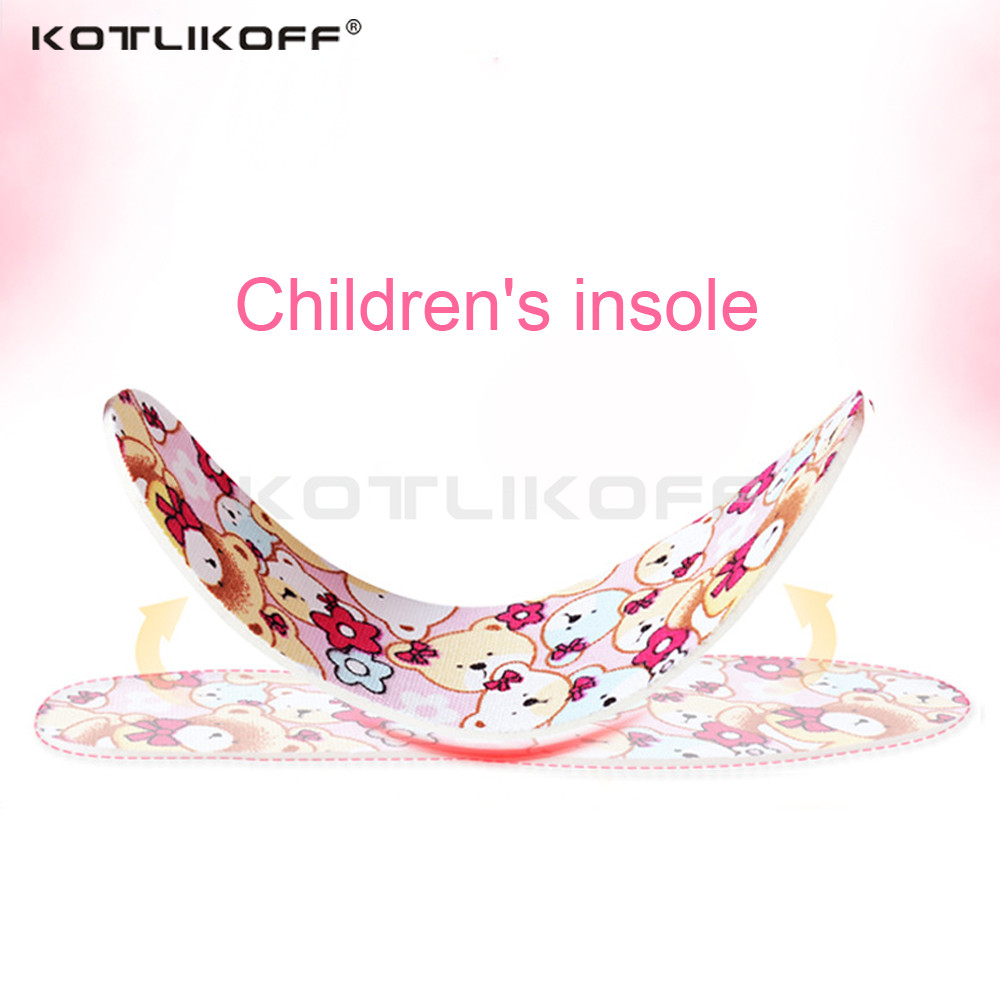 KOTLIKOFF Latex breathable insole childrens insoles cushioning insert anti-slip insoles moisture absorption deodorant insole