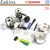 Newest 28pcs Notebook/PC Hard disk Open repair replace the hard drive tools kit +6pcs Anti static operating accessories