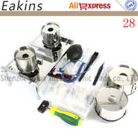Newest 28pcs Notebook/PC Hard disk Open repair replace the hard drive tools kit +6pcs Anti-static operating accessories