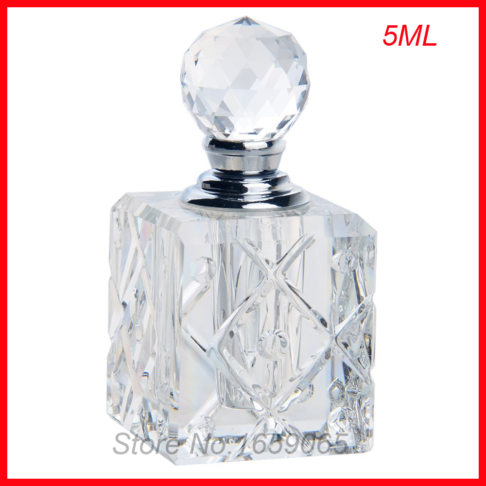 NEW 5ml cosmetics perfume bottle crystal glass essential oil makeup containers small Parfum atomizer perfumeros containers cosmetics 50g bottle chinese herb ligusticum chuanxiong extract essential base oil organic cold pressed