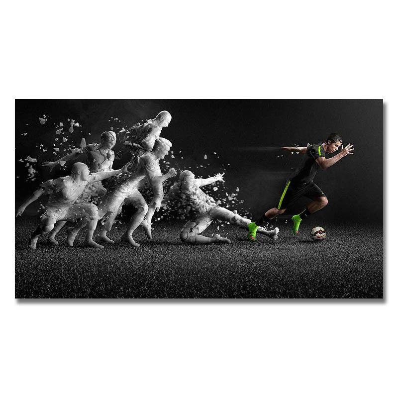 cristiano ronaldo real madrid super star soccer wall sticker home