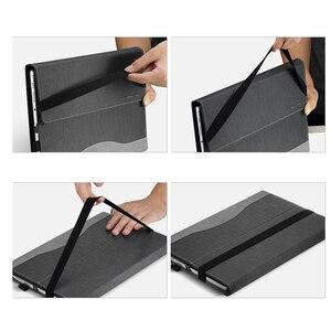 Image 5 - Funda protectora de piel sintética para Lenovo Yoga Book, funda protectora de cuero PU para YB1 X91F, 10,1 pulgadas