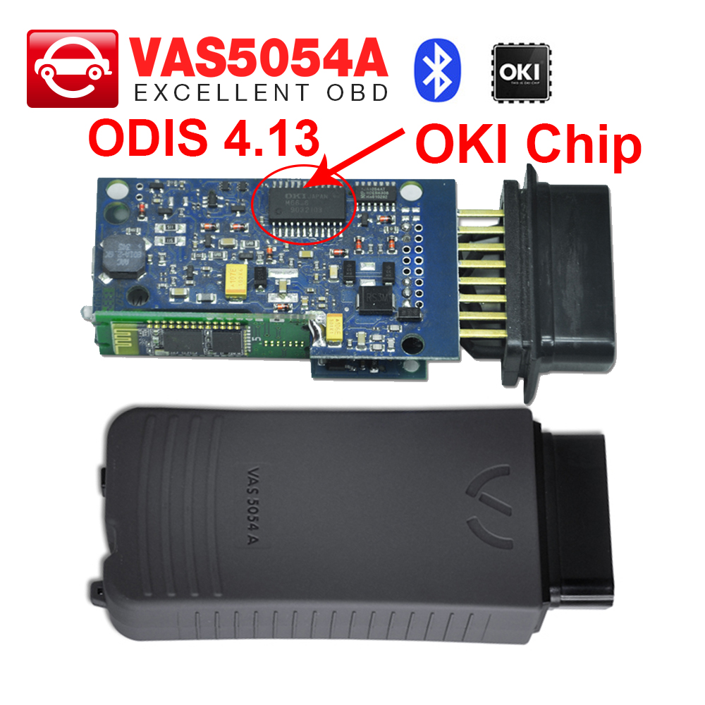 VAS 5054A with OKI Chip ODIS 4.13 software VAS 5054 A scanner For Adi for Seat for Skoda for VW VAS5054A OBD2 Diagnostic Tool