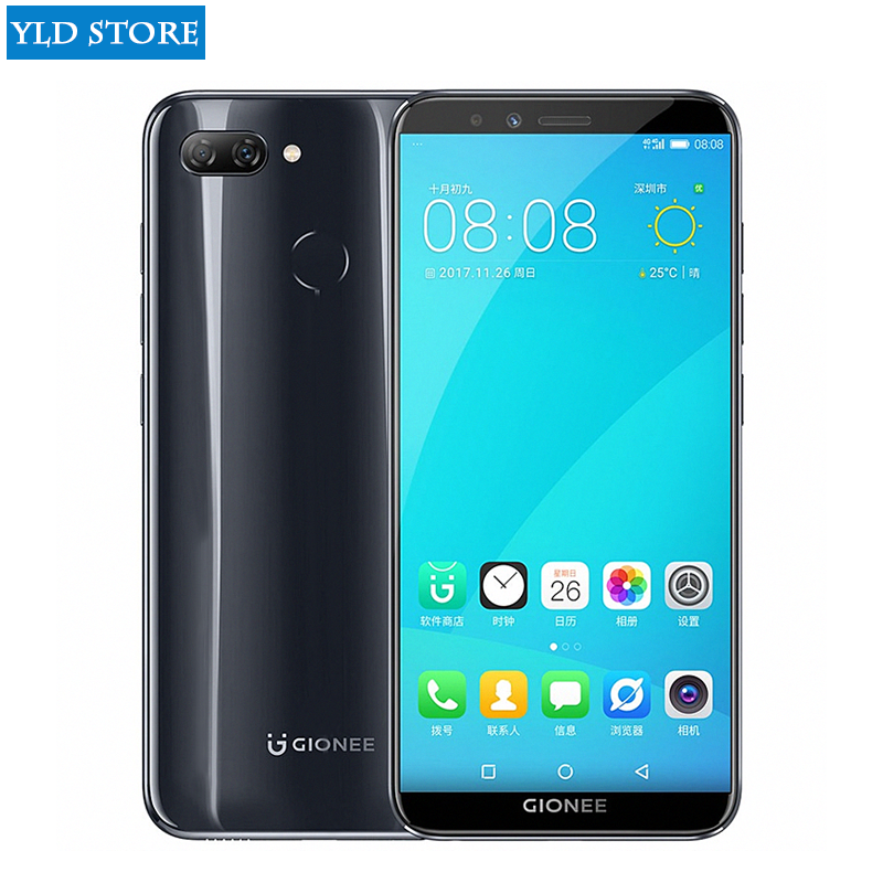 Mondial Rom D'origine Gionee F6 Mobile Téléphone Android 7.1 4g LTE Snapdragon Octa Core 3 + 32g 5.7