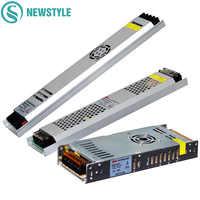 Alimentation en alimentation LED Ultra mince DC12V 5 V 24 V 200 W 300 W LED transformateurs d'éclairage de AC190-240V de conducteur pour la lumière de bande de LED