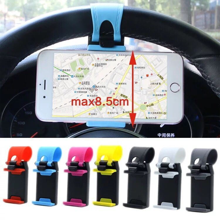 Car <font><b>Phone</b></font> <font><b>Holder</b></font> Mini Air Vent Steering Wheel Clip Mount For <font><b>Mazda</b></font> 2 <font><b>Mazda</b></font> 3 <font><b>Mazda</b></font> 5 <font><b>Mazda</b></font> <font><b>6</b></font> CX5 CX-5 CX7 CX9 Atenza Axela image