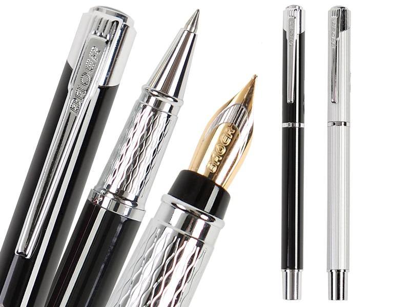 Fountain Pen  RollerBall pen BAOER 525   office and school signature Pen    FREE SHIPPING parker 88 maroon lacquer gt fine point fountain pen