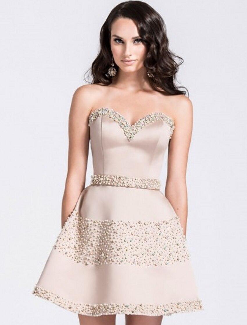 Aliexpress.com : Buy Sexy Short Beaded Luxury robe de Cocktail ...