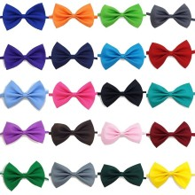 50 pcs/lot Mix Colors Wholesale Pet Grooming Accessories Rabbit Cat Dog Bow Tie Adjustable Bowtie Multicolor Products