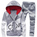 New spring and autumn 2016 men's fashion trend of the Korean version of Slim casual high quality XL Hooded Jacket suits hot sale
