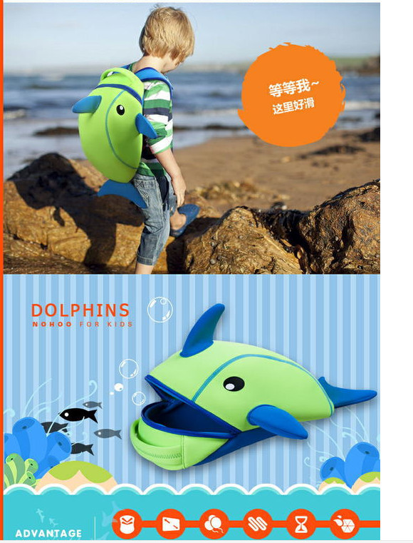 Aliexpress.com : Buy kids dolphin school bags dolphin bags for ...