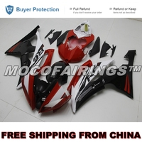 FREE SHIPPING ABS Motorbike 2008 2014 YZF R6 Fairings Kits For Yamaha 08 14 YZF R6 Injection Fairing Body Cover RED BLACK WHITE