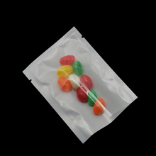 7*10cm Small Clear White Open Top Plastic Bag  Food Package Bags Dried Snacks Vacuum Pouch Transparent Poly 500 Pieces
