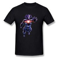 Cotton Shirts Cheap Wholesale Short Sleeve Printing Machine Crew Neck Mens Customize O Neck Causal Galactus