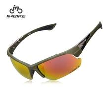 INBIKE Polarized Cycling Glasses Bicycle Bike Sunglasses Outdoor Sports Glasses Cycling Eyewear UV Proof IG968