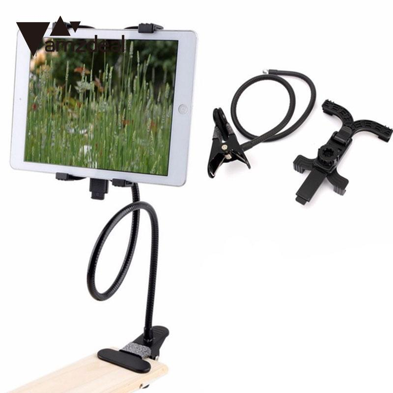 Universal Flexible 360 Degree Mobile Phone Stand Holder Mount For 7 Inch 12 Inch Tablets PC