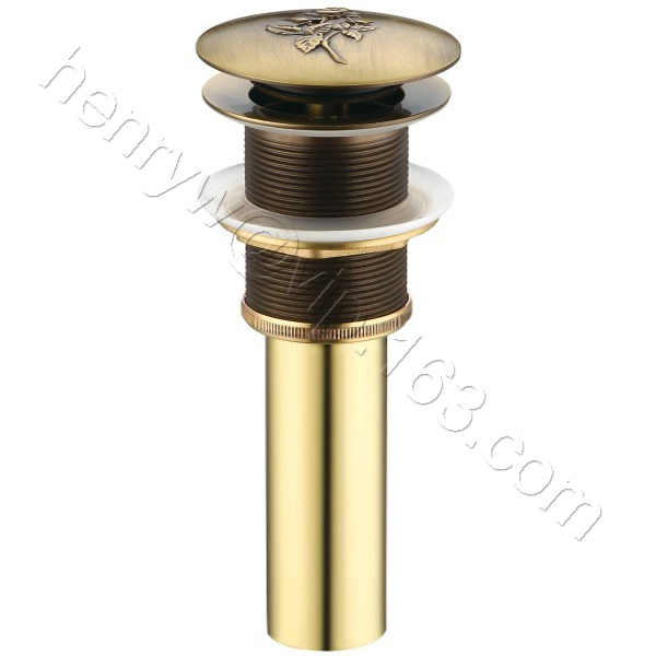 Золото и бронза Цвет люкс латуни всплывающих отходов Применение в умывальник l15595 - Цвет: Бургундия