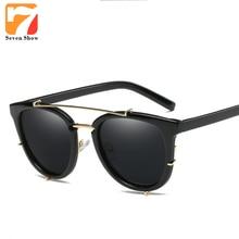 Moda gafas de Sol Polarizadas de Los Hombres Diseñador de la Marca Mujeres de Lujo Gafas de Sol Hombre Espejo Shades Vintage Mujer Gafas UV400