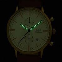 Splendid Watches Men Luxury Top Brand HCANDICE Men S Fashion Noctilucent Leather Band Quartz Watch Wrist