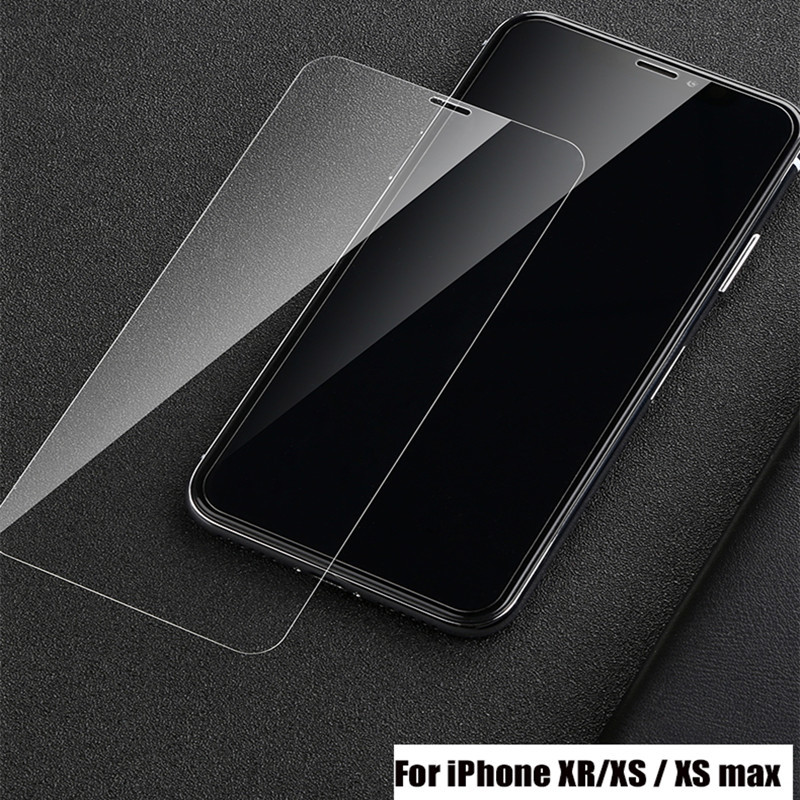 Tempered Glass For iPhone 7 8 X XR XS Max Screen Protector For iphone 4 4S 5S 5C 5 SE 6 6s 7 8 Plus Toughened Protective Glass in Phone Screen Protectors from Cellphones Telecommunications